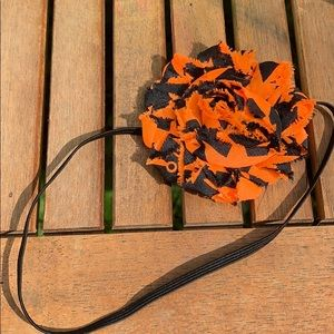 Halloween flower baby headband